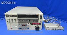 "Sony BVU-950 3/4"" Umatic SP Recorder w/ TBC, Timecode, BVR-50 Remote"