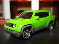 2019 JEEP RENEGADE CUSTOM EDITION 1/64 MB DETAILED LIGHTS AND CUSTOM WHEELS