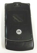Motorola Razr / Razor V3 - Black ( At&T ) Cellular Flip Phone - Read / Blue Back