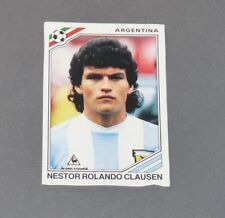CLAUSEN ARGENTINA RECUPERATION PANINI FOOTBALL MEXICO 86 WM 1986