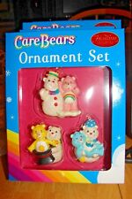 CARE BEARS ORNAMENT SET HEIRLOOM ORNAMENT COLLECTION SET OF 3 NEW IN BOX
