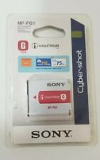 Sony NP-FG1 Rechargeable Lithium-Ion Battery Pack for Select Digital Cameras