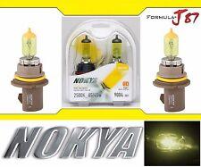 Nokya 2500K Yellow 9004 HB1 Nok7612 65/45W Head Light Bulb Dual Beam Replacement