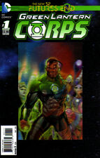 GREEN LANTERN CORPS Futures End #1 - 3D Cover - New 52 - New Bagged