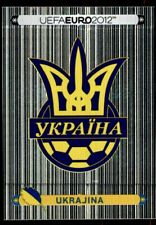 Panini Euro 2012 (Swiss Platinum Edition) Badge (Ukraine) No. 398
