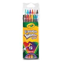 Twistables Erasable Colored Pencils, 12 Assorted Colors/Pack