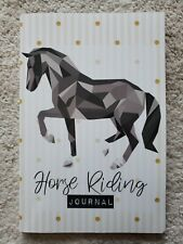 HORSE RIDING JOURNAL: A HORSE RIDING Journal and NOTEBOOK By Clevkids BRAND NEW
