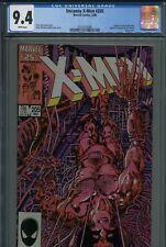 Uncanny X-Men 205 CGC 9.4 Wolverine Origin Weapon X Old Man Logan Deadpool