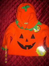 HALLOWEEN ITS THE THING PUMPKIN PULL OVER HOODIE INFANT BABY CHILD