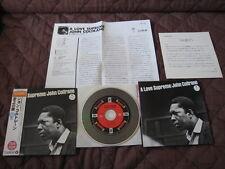 John Coltrane Love Supreme Japan Misprint Mini LP CD wOBI  Revised Sleeve