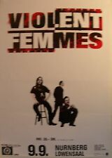 Violent Femmes Concert Tour Poster 1994 New Times