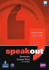 Longman SPEAKOUT Elementary Students Book and DVD/Active Book Multi-Rom Pack NEW