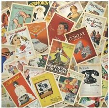 Lot of 32 Vintage Post card Postcard Postcards Advertising History Retro