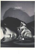 """PUBLICITE ADVERTISING  1999   JEAN PAUL GAULTIER L'EAU CLASSIQUE"""" parfums"""