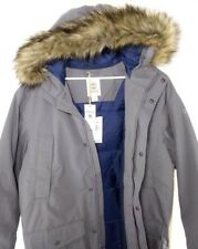 Timberland Men's  Parka Gray Waterproof  Dry Faux  Fur Hooded Coat 8141J. SZ: XL