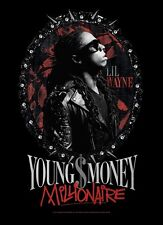 LIL WAYNE FLAGGE FAHNE POSTERFLAGGE YOUNG MONEY MILLIONAIRE