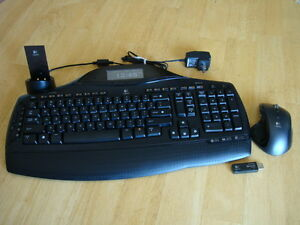 Logitech Cordless Desktop MX5500, Fully Tested in Very-Good Condition