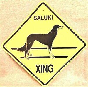 Saluki Xing Dog Sign