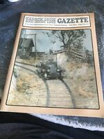 On3,On30,SN3,HOn3 NARROW GAUGE AND SHORT LINE GAZETTE MAGAZINE NOV/DEC 1989