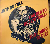 Jethro Tull Too Old To Rock N Roll LP Vinyl Record First Pressing CHR-1111