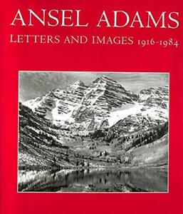 Ansel Adams Letts & Images by Adams, Ansel Paperback Book The Cheap Fast Free