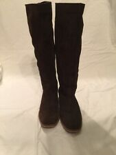 Seychelles Weekenders Brown Suede Boots Knee High Leather Women's  Size 8