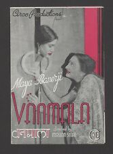 Bollywood 1942 VANMALA herald Maya Banerji