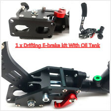 1 x Drifting E-brake kit With Oil Tank (AS picture) Master cylinders: 0.75Bar