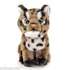 Real Stuffed Iriomote wild cat Baby COLORATA Plush animal
