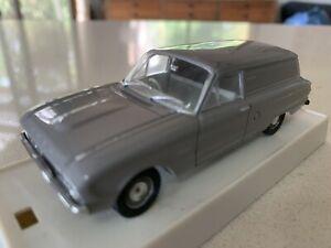 Trax.  1/43 Scale. TR 27B. 1961 Ford XK Falcon Panel Van. Colour Of Koala Grey.