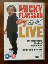 Micky Flanagan The out out Tour Live 6867441038696 DVD Region 2