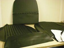 Triumph STAG ** LH FRONT SEAT COVER KIT ** BLACK VINYL MK2 STAG