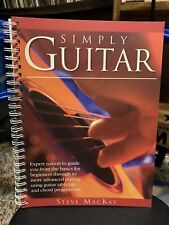 New ListingSimply Guitar by Steve MacKay Book Only