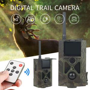 Wildkamera GPRS/MMS/SMS 12MP 940NM HC300M JagdKamera IR Jagd WildtierKamera*