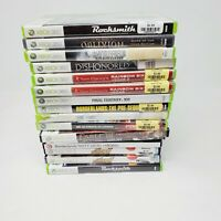 Lot of 16 Xbox 360 games Genuine Authentic Tested