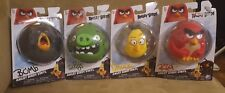 Lot of 4  of angry birds. Red, Chuck, The pigs, and Bomb