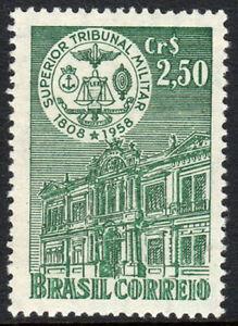 Brazil 862, MNH. Military Superior Court, 150th anniv. Court House, 1958