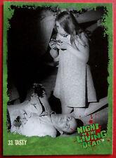 NIGHT OF THE LIVING DEAD - Cult 1968 Romero Zombie film - Card #33 - Tasty