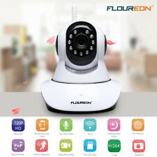 FLOUREON WIFI IP Kamera CCTV 720P HD Wireless WLAN ONVIF Webcam IR Nachtsicht DE