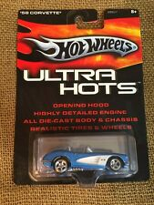 Hot Wheels 2005 Ultra Hots Chevrolet Corvette Light Blue And White