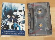 Pet Shop Boys Good (G) Inlay Condition Music Cassettes