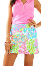 Lilly Pulitzer Marigold Skort Multi Lovers Coral 2