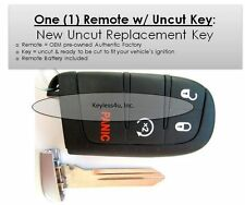 Keyless entry remote journey start uncut key control fob transmitter keyfob fab