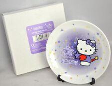 """NEW 2000 Hello Kitty SCORPIO Zodiac 4"""" Mini Decorative Plate with Stand Sanrio"""