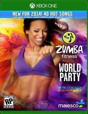 ZUMBA FITNESS WORLD PARTY NEW  microsoft XBOX ONE GAME