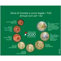 2020 * ITALIA Divisionale Ufficiale Euro 8 Monete FDC