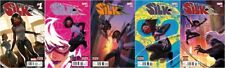 Silk #1 2 3 4 5 Comics Into The 1st Print Movie Spider-Gwen Woman Black Cat