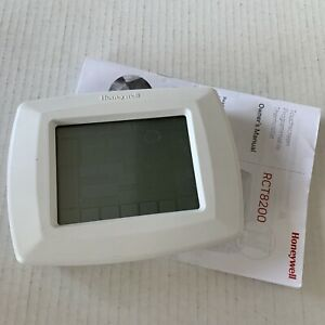 Honeywell Touchscreen Programmable Thermostat - RCT8200 Used Priority Shipped
