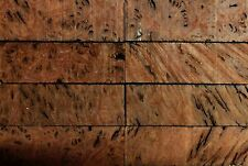 Western Australian Jarrah Burl Wood Knife Blocks (Scales)