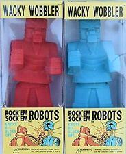 Rock Em Sock Em Robots Wacky Wobbler Bobblehead Set by FUNKO NIB
